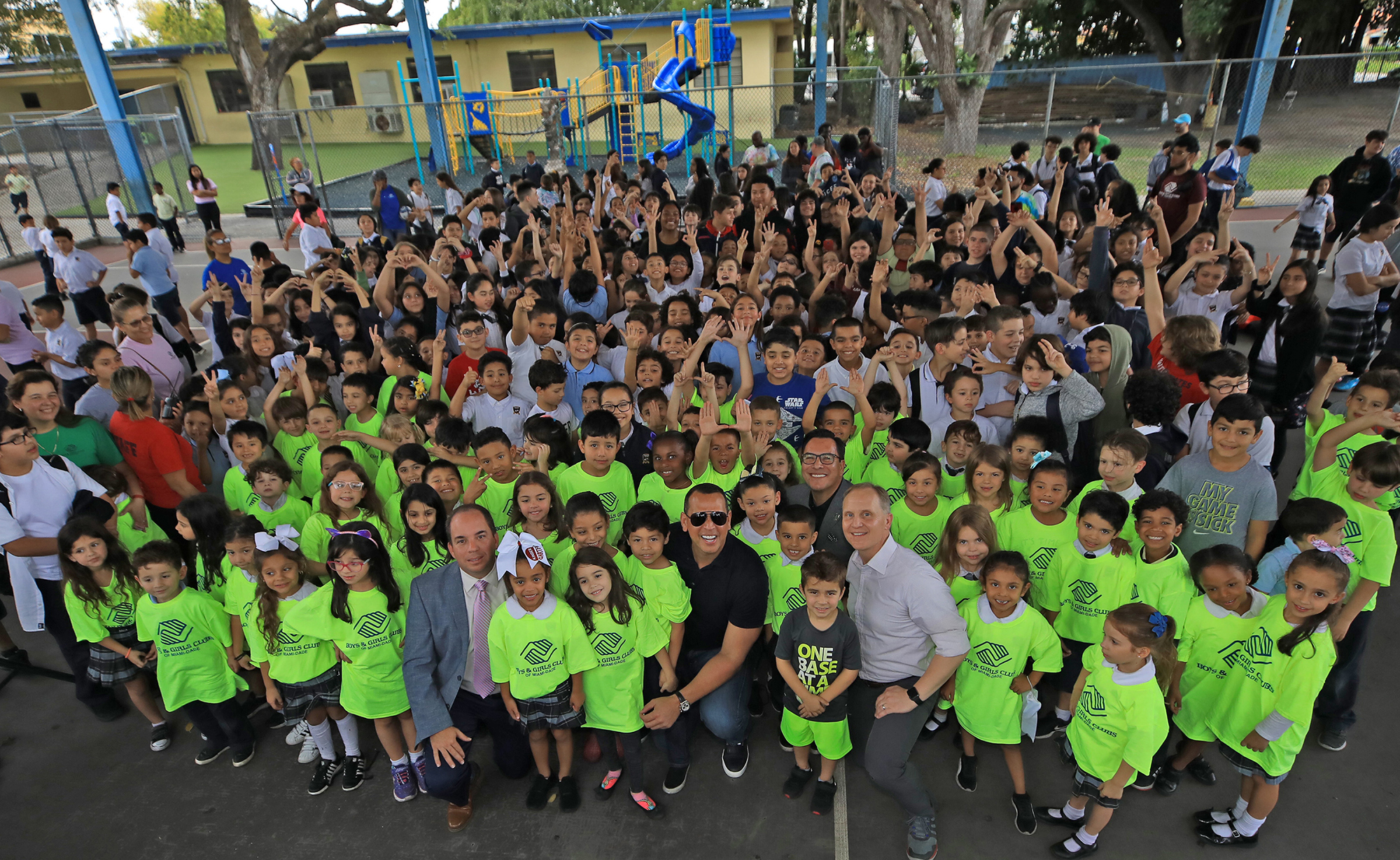 FOX Sports Supports with Boys and Girls Clubs of Miami-Dade