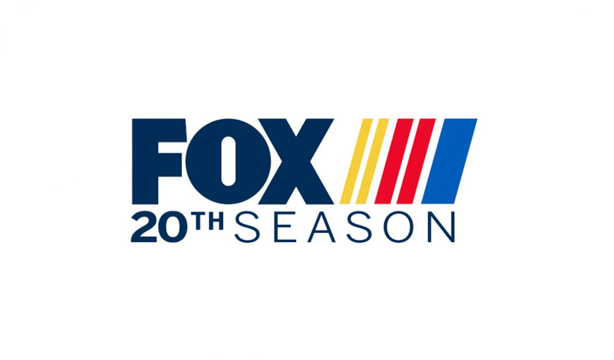 NASCAR on FOX 20th Season Logo