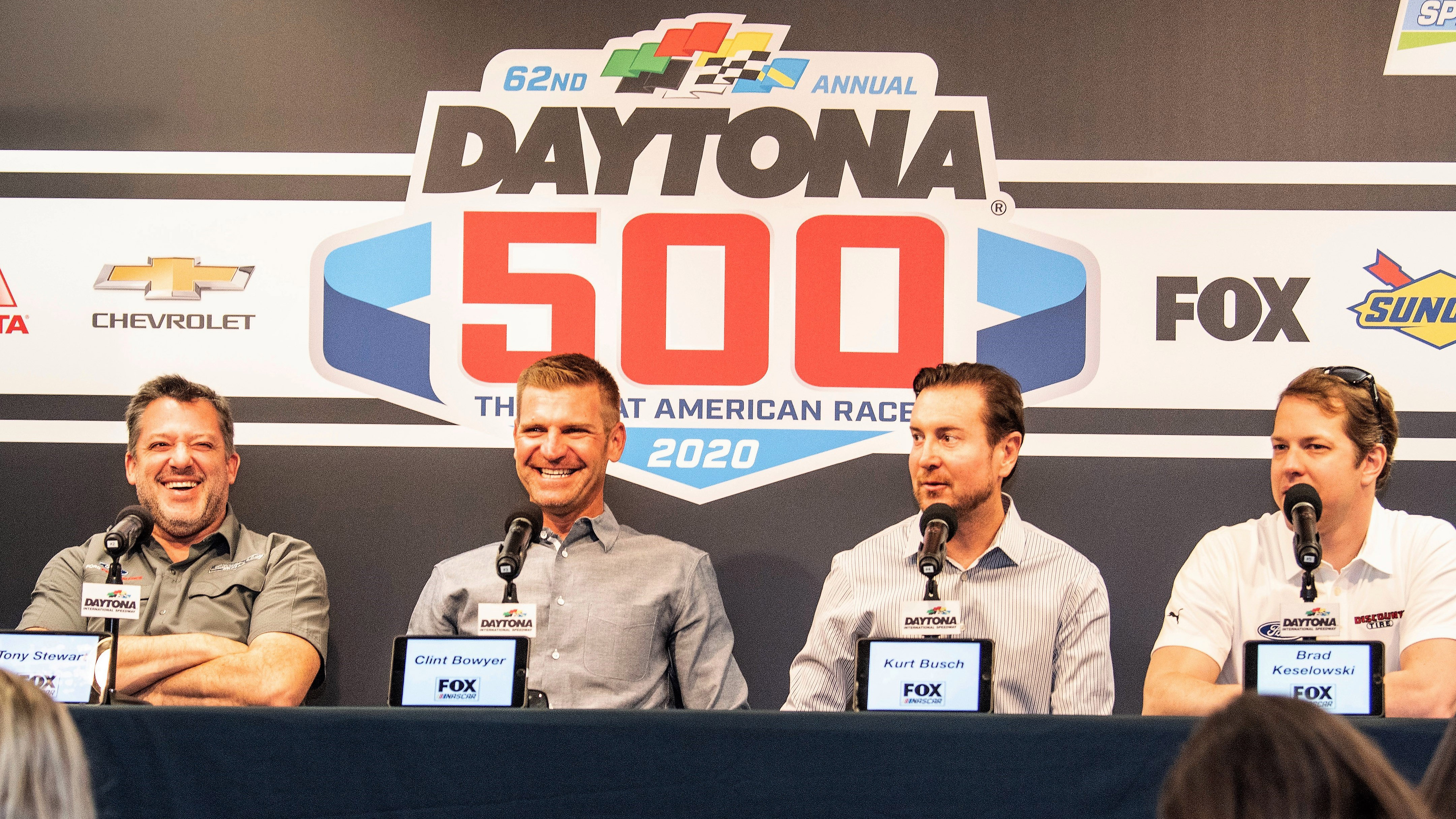 FOX Sports Bolsters Stellar NASCAR XFINITY SERIES Driver Analyst Roster with Addition of Stewart and Busch Brothers | Fox Sports PressPass