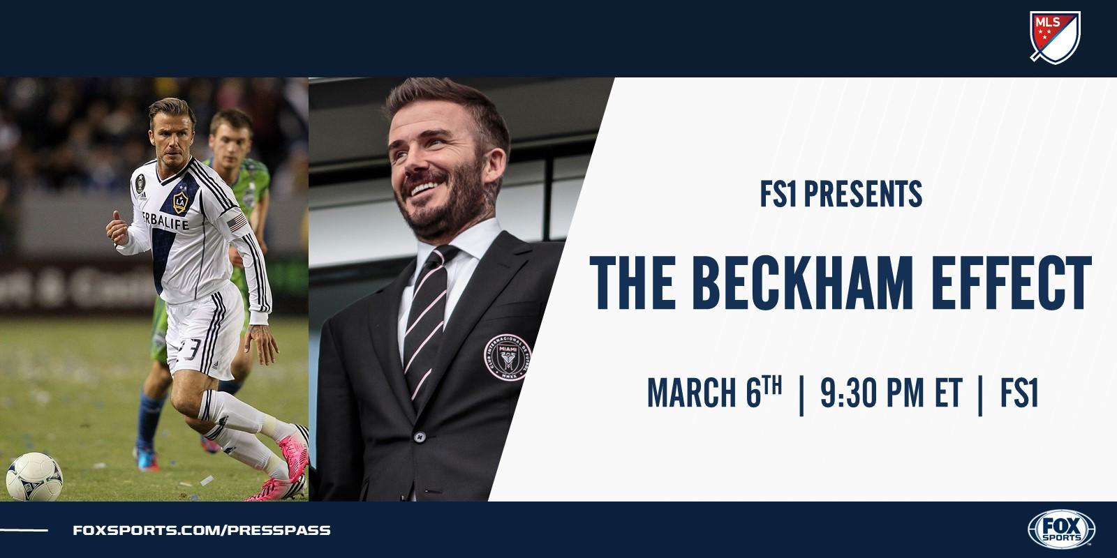 FOX Sports PR Beckham Effect