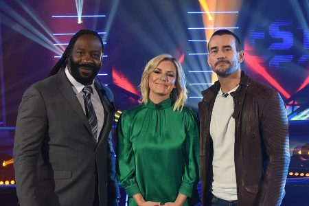 Booker T, Renee Young, CM Punk