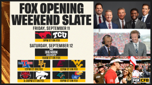 Opening Weekend and Broadcasters