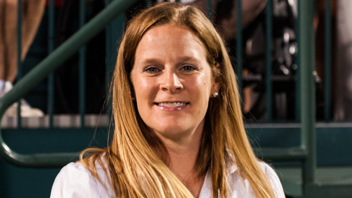 Portland Thorns head coach Cindy Parlow Cone. The Portland Thorns defeated the Western New York Flash 2-0 during the National Women's Soccer League (NWSL) finals at Sahlen's Stadium in Rochester, NY, on August 31, 2013.