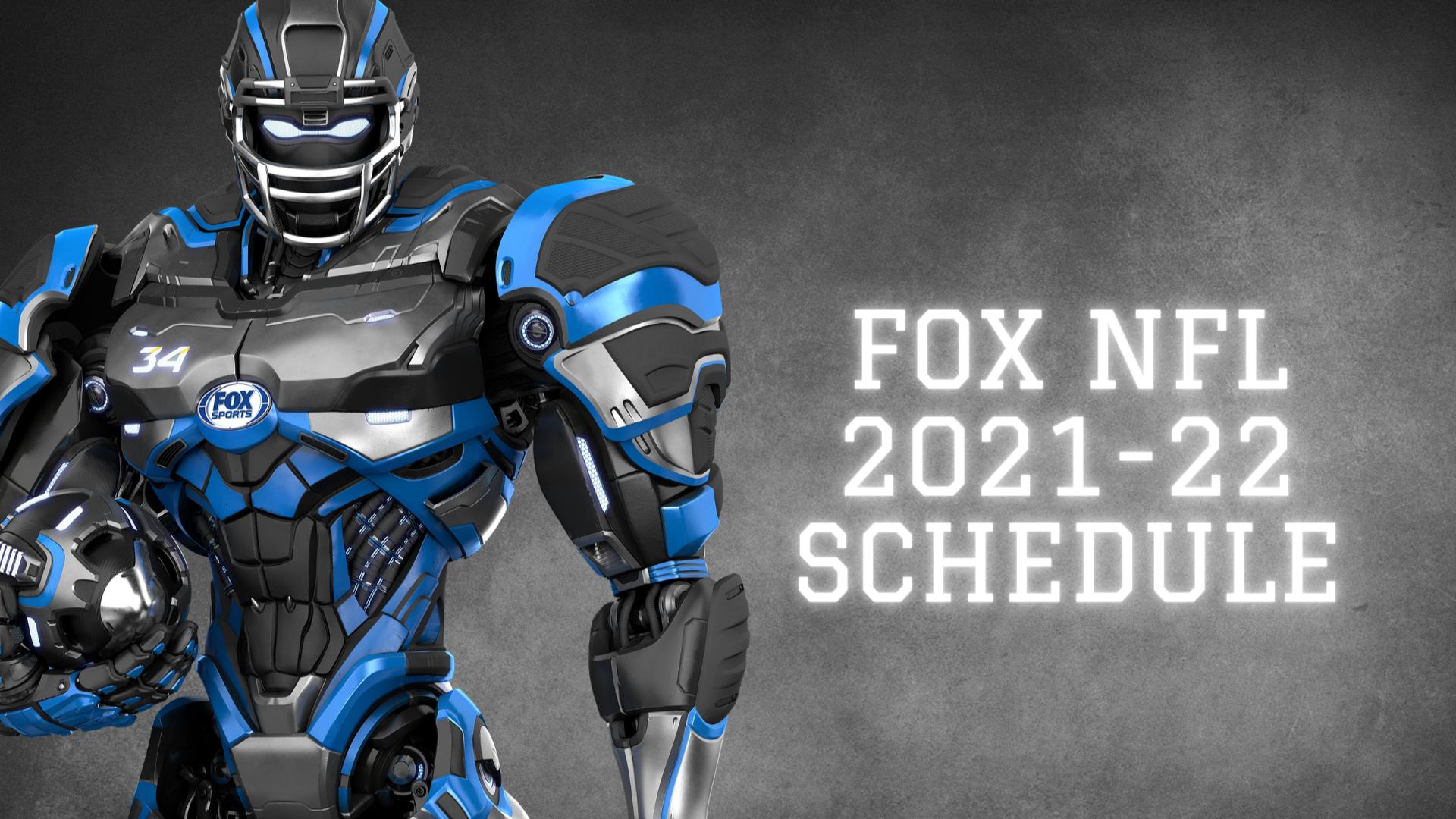 FOX Sports 2021 NFL Schedule | Fox Sports PressPass