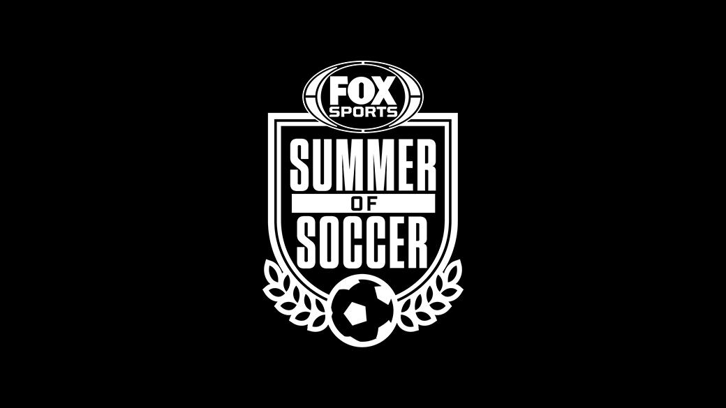 FOX Sports' Summer of Soccer Logo Black & White