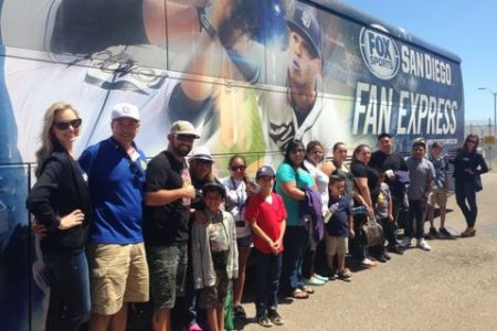 On Saturday, July 5, FOX Sports San Diego welcomed several families representing the Army's Gold Star Pin Campaign to watch the Padres host the San Francisco Giants.