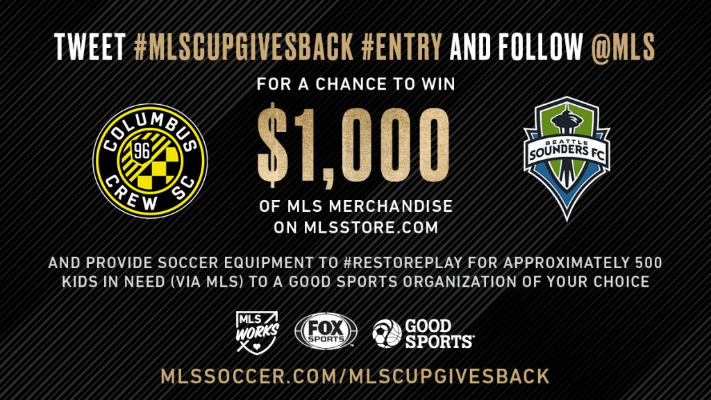 MLS Cup Gives Back